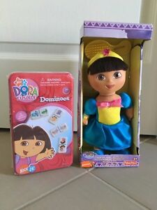 Dora the Explorer Doll and Dominoes Set *New*