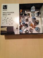 WallFlower / Wall Art  Ensemble de 20 Fleurs décoratives murale