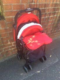 Mee-go feather lightweight stroller buggy pushchair 5kg