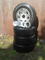 LT 275/70 R18 Tires and Rims