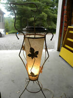 Vintage Astray Light with Rice Paper Shade