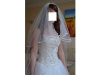 Sincerity Wedding Dress: Size 8