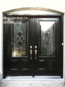 Door Entry Stained Entrance Glass  modern or traditional Design
