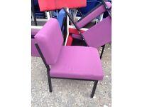 Reception cheap chairs