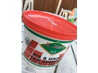 SOLD ... Fix and grout tile adhesive