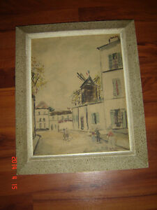 reproduction de Maurice Utrillo