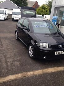 audi a2 for sale 52 reg (kilmarnock)1 years mot 144 on the clock alloys service clean car for age