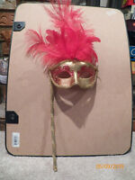 Beautiful Detailed Masquerade Mask, Art or For Use