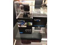 GoPro HERO4 Black Edition Camcorder + LCD Touch BacPac Perfect As New Condition
