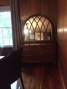 Antique dresser and mirror (priced separately)