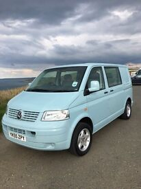 VW T5 Transporter window van