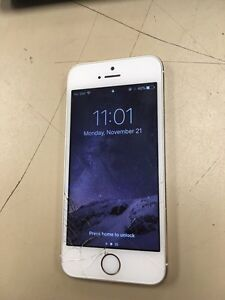 Gold iPhone 5s, (rogers) Strathcona County Edmonton Area image 3