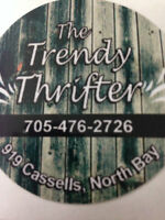 The Trendy Thrifter Grand Opening!!!!!!