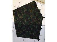New British Army camouflage ground sheet