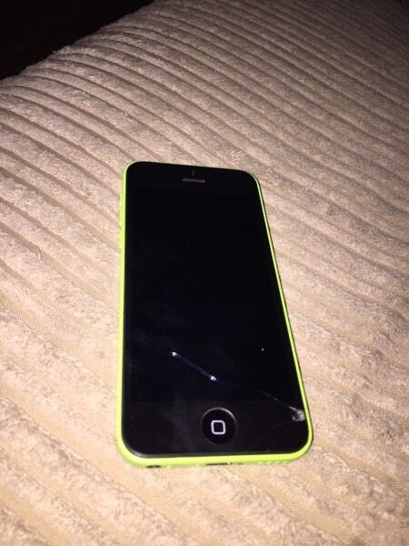 iPhone 5c - Lime green