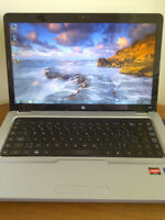 HP G62 Laptop with New Lithium-Ion Battery