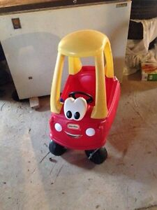 4 in 1 Tricycle and Cozy Coupe St. John's Newfoundland image 2
