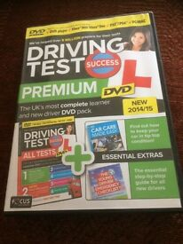 COMPLETE DRIVING TEST PREMIUM DVD, COMPLETE LEARNER PACK