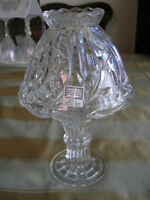 FIFTH AVENUE CRYSTAL Candle Holder With Shade (Lantern/Lamp)