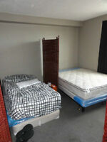 $25/Night/Bed or $39.99/2 sharing 1 bed WiFi & Parking included