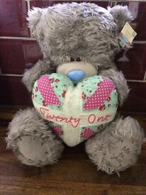 Tatty teddy me to you 21st birthday large bear