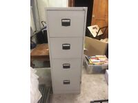 SOLD 4 drawer filing cabinet
