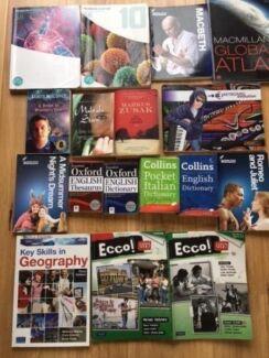 Various Year 7 - Yr 10 Textbooks