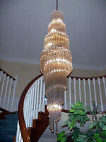 MURANO GLASS DOWNSIZING SALE CHANDELIERS & LAMPS