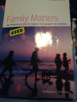 Family Matters: An Introduction to Sociology in Canada