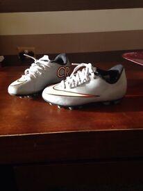 Boys Christiano Ronaldo football boots