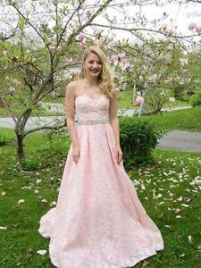 Pink Jovani Prom Dress Size 0