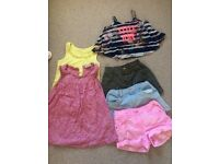 Girls summer bundle age 7