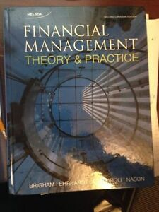 Financial Management Theory & Practice Watch 2nd edition Edmonton Edmonton Area image 1