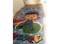 Kids carpet rug large