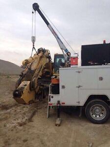 Heavy Equipment Repairs - Mobile