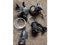 SRAM x5 x7 gear set up