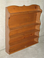 Collectables or Knick - Knack Shelf - Routed Edges - Solid Wood