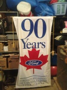 Ford anniversary banner