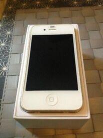 APPLE IPHONE 4s white unlocked open o2 02 ee t mobile virgin tesco 3 vodafone new