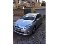 TOYOTA PRIUS T3 CVT 1.8 Hybrid Auto Silver *U.K Model* Full-History 1-owner Drives-Superb PCO&UBER