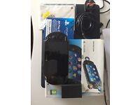 Ps Vita wifi+3g with 8gb memory card