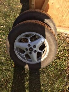 2 225 60 r16 studded tires and rims