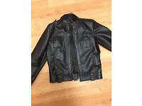 Mens Beautiful False Leather Jacket