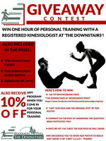 Win 1 hour of personal training with a dynamic kinesiologist