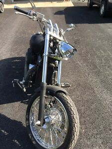 2002 Honda Shadow 750 bobber