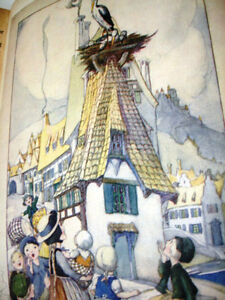 1940s rare WARTIME ANDERSEN'S FAIRY TALES plates Anne Anderson Cambridge Kitchener Area image 8