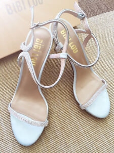 New!Minted Crystal Heels from BHLDN (anthropology wedding)