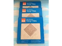 Self adhesive vinyl tiles, take all three packs for only £10,costs £7.95 EACH