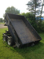 Downeaster dump trailer