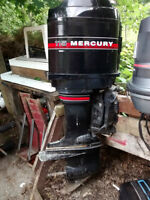 2x 115 Mercury Outboards for parts